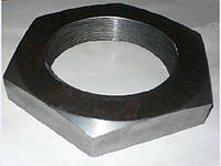 М10 Гайка шестигранная низкая низкая DIN 439 аналог  ГОСТ 5916-70,черная, оцинкованная  , фото 1