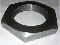 М24 Гайка шестигранная низкая низкая DIN 439 аналог  ГОСТ 5916-70,черная, оцинкованная  , фото 1