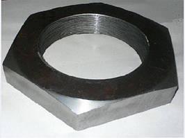 М4 Гайка шестигранная низкая низкая DIN 439 аналог  ГОСТ 5916-70,черная, оцинкованная