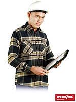Осеннее – зимняя рубашка из фланели высокого качества KFLUX N