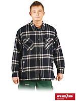 Рубашка утеплена слоем искусственного меха, благодаря чему в ней можно ходить и ранней зимой KFTOP GW