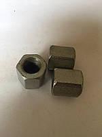 М10*30 Гайка удлиненная DIN 6334 (переходная для шпильки)оцинкованная,черная