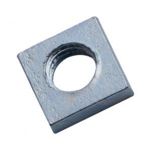 М4 Гайка квадратная DIN 562 метрическая ,оцинкованная