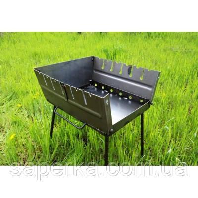 Мангал-чемодан складной  6 шампуров