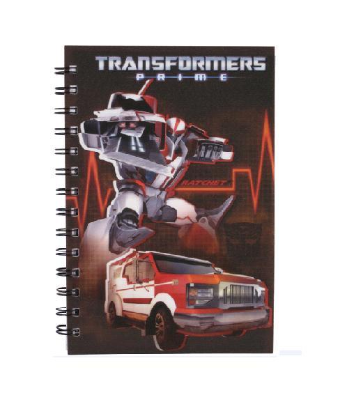 Kite Блокнот Transformers, 80 листов, А5