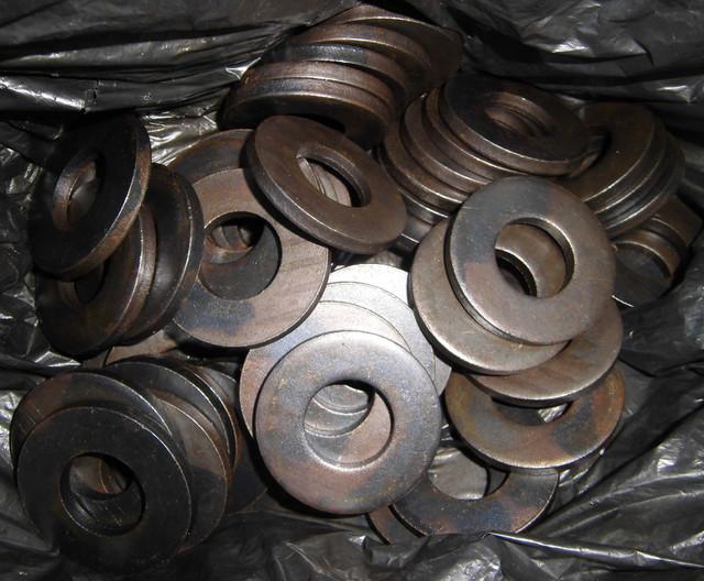 Шайбы для болтов высокой прочности DIN 6916 | Фотографии принадлежат предприятию Крепсила