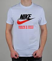 Футболка мужская Nike Track&Field  1596 Белая