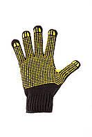 Перчатки для механических работ трикотажные с ПВХ нанесением