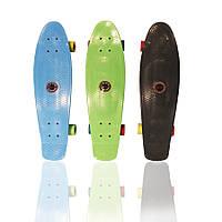 Супермодный скейт Amigo Penny Board-28, 28см, для подростка