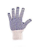 Перчатки трикотажные с ПВХ нанесением для легких работ