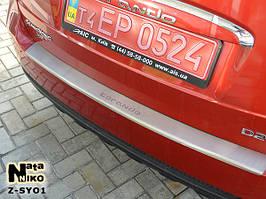 Накладки на пороги Premium Ssang Yong Korando 2011-