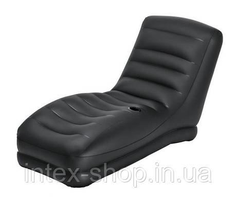 Надувное Велюр кресло Intex 68585, фото 2