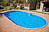 Сборный наземный морозостойкий бассейн Mountfield Azuro DE LUXE 407DL (9,1х4,6м \ 45000л)