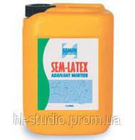 Специальная строительная, растворная добавка (пластификатор) Semin Sem Latex, 5 кг