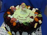 """Детский торт на заказ """"Мой Ангелочек"""", фото 1"""