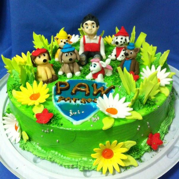 """Дитячий торт на замовлення """"Щенячий патруль"""""""