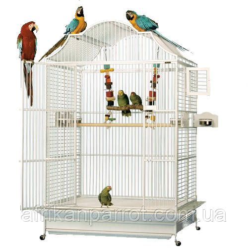 Вольер  для попугая 117/74/183 см 406 модель Европейский стиль - Extra Large Кейдж