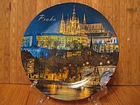 Тарелка сувенир Прага 3