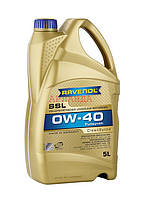 RAVENOL масло моторное 0w-40 SSL /MB 229.5, BMW Longlife-01/ - 5 л