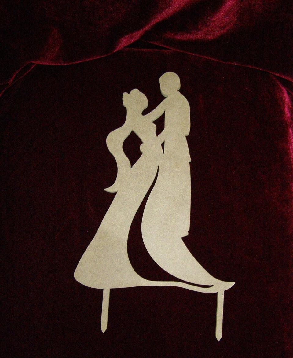 Молодожены, топпер пара, топпер для торта, топпер для сладкого стола, теппер на свадьбу, топпер для украшения.