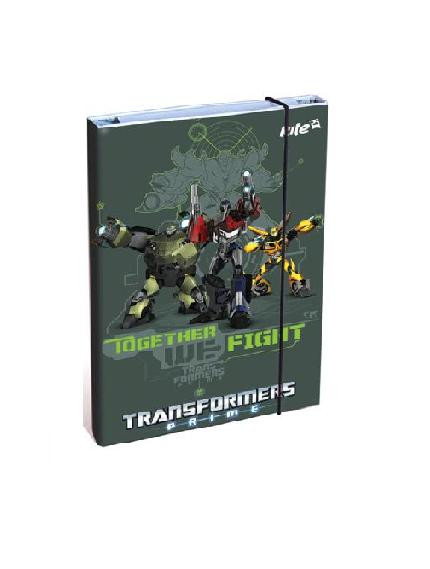 Kite Папка Transformers, для труда, А4 на резинке