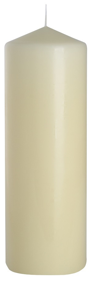 Свеча для ресторана кремовая 80х250мм