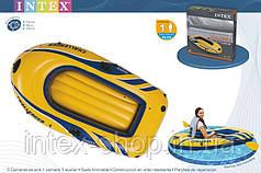 Надувная лодка Challenger 1 Intex 68365