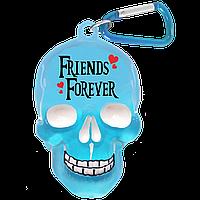 "Брелок для ключей в виде черепа ""Friends Forever"""