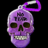 """Брелок для ключей в виде черепа """"No Fear"""""""