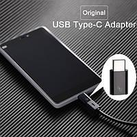 Переходник Xiaomi USB type-c adapter черный, фото 1