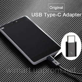 Переходник Xiaomi USB type-c adapter черный