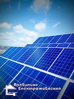 Мережева сонячна електростанція 10 кВт. ( с. Синяк, Вишгородський р-н. )