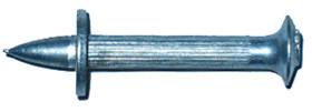 Дюбель-гвозди с насаженными шайбами, с цинковым покрытием