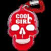 "Брелок для ключей в виде черепа ""Cool Girl"""