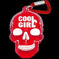 "Брелок для ключей в виде черепа ""Cool Girl"", фото 1"