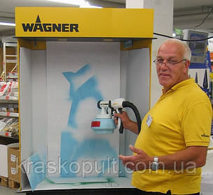 Хотите увидеть краскопульт Wagner в работе???