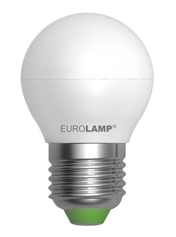 Светодиодная лампа EUROLAMP EKO 5Вт G45 E27