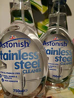 Средство очищающее для бытовой техники Astonish Stainless Steel Cleaner, 750 мл