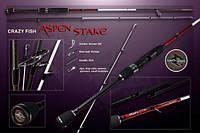 "Спиннинг Aspen Stake ""Crazy Fish""1,83м(1-6 грамм)"