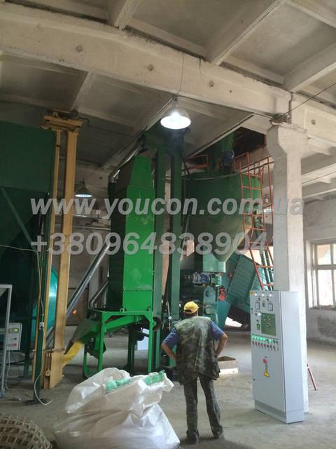 Пеллетный завод, производительность от 800 кг\час
