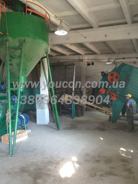 Пеллетный завод от 800 кг\час (сырье: древесная опилка) 8