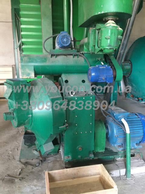 Пресс гранулятор ОГМ-1,5 Главный электродвигатель - 75 кВт Смеситель - 2,2 кВт