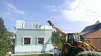 Слом домов. Демонтаж строений
