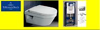 5684H101 Omnia Architectura унитаз подвесной с крышкой soft close + Инсталяция GEBERIT 458.161.21.1