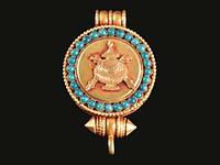 Тибетский кулон Ваза #2