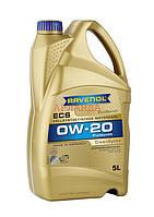 RAVENOL масло моторное 0w-20 ECS /Honda_Acura HTO-6/ - 5 л, фото 1