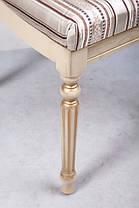 Стул обеденный Сицилия Люкс слоновая кость+патина Verona 2B (Микс-Мебель ТМ), фото 2
