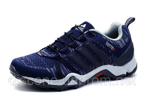 Кроссовки мужские Adidas Terrex, синие, текстиль