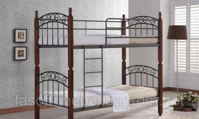 Кровать двухярусная Onder Mebli DD Liya 900х1900х1800 Малайзия