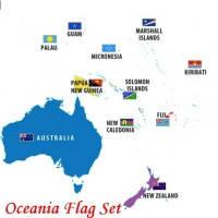 Флаги Океании